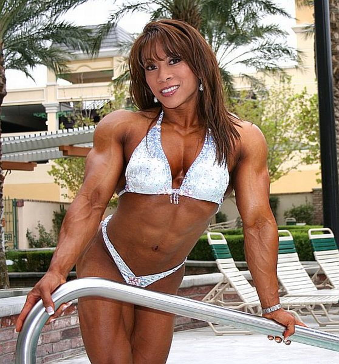 Brenda Raganot - Asian Female Bodybuilder (physique art inc)