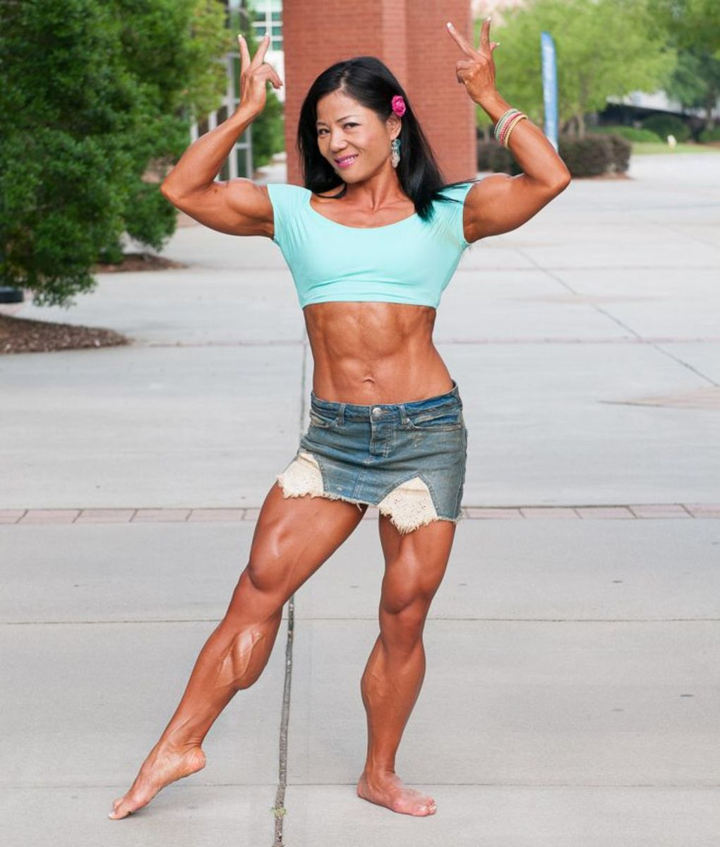 Michelle Jin - Female Bodybuilding
