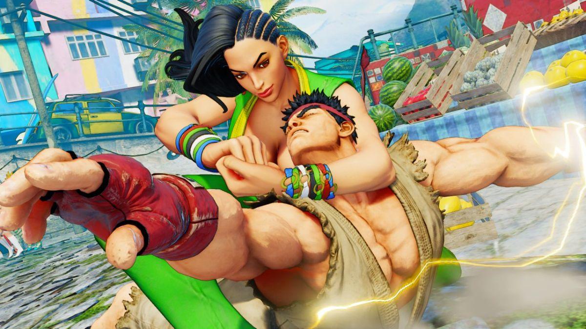Laura Matsuda from Street Fighter V