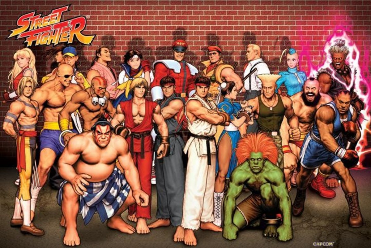 "The ""Cast"" of Street Fighter"