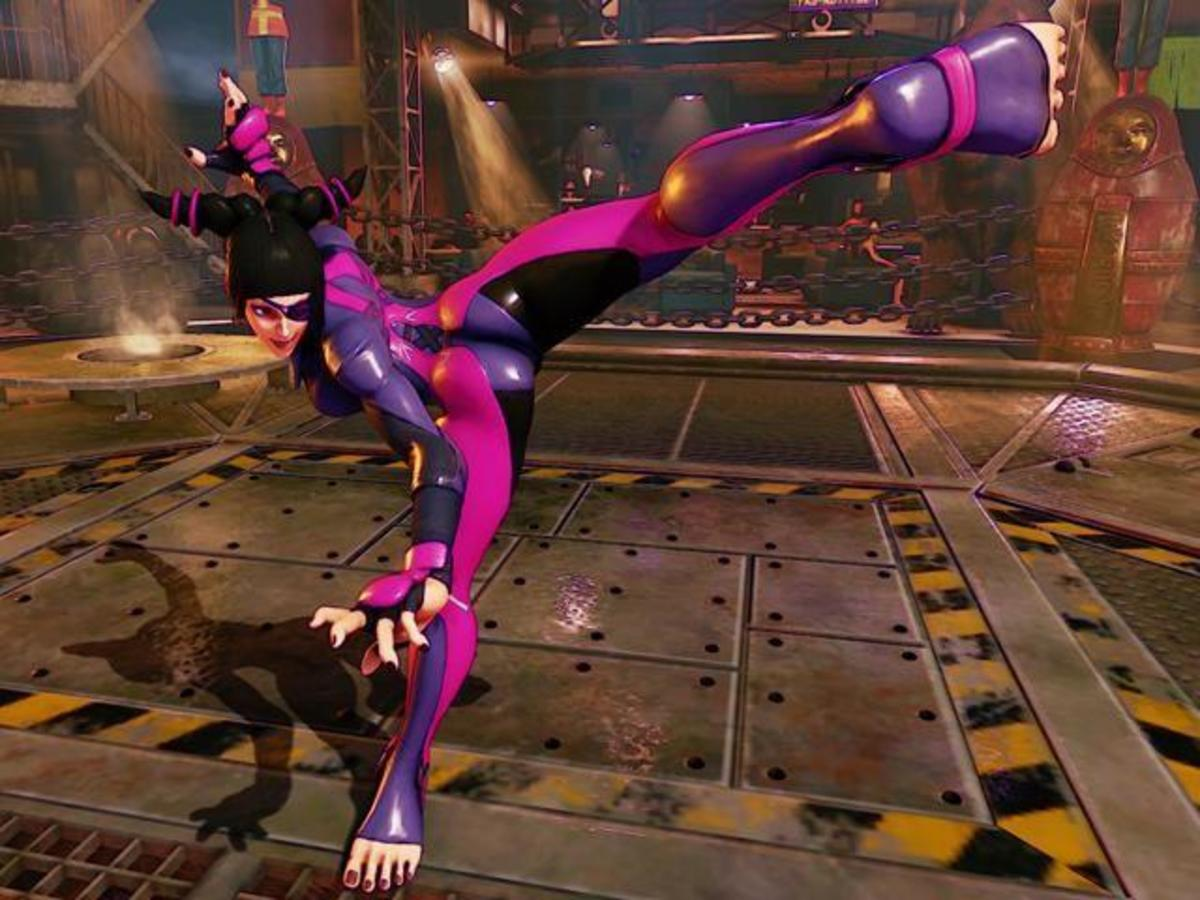 """Well then, where do you want me to break you first?"" - Juri Han (Street Fighter V)"