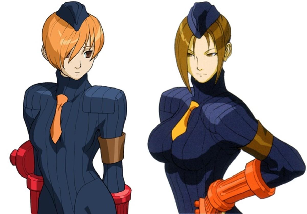 Juli and Juni - Street Fighter