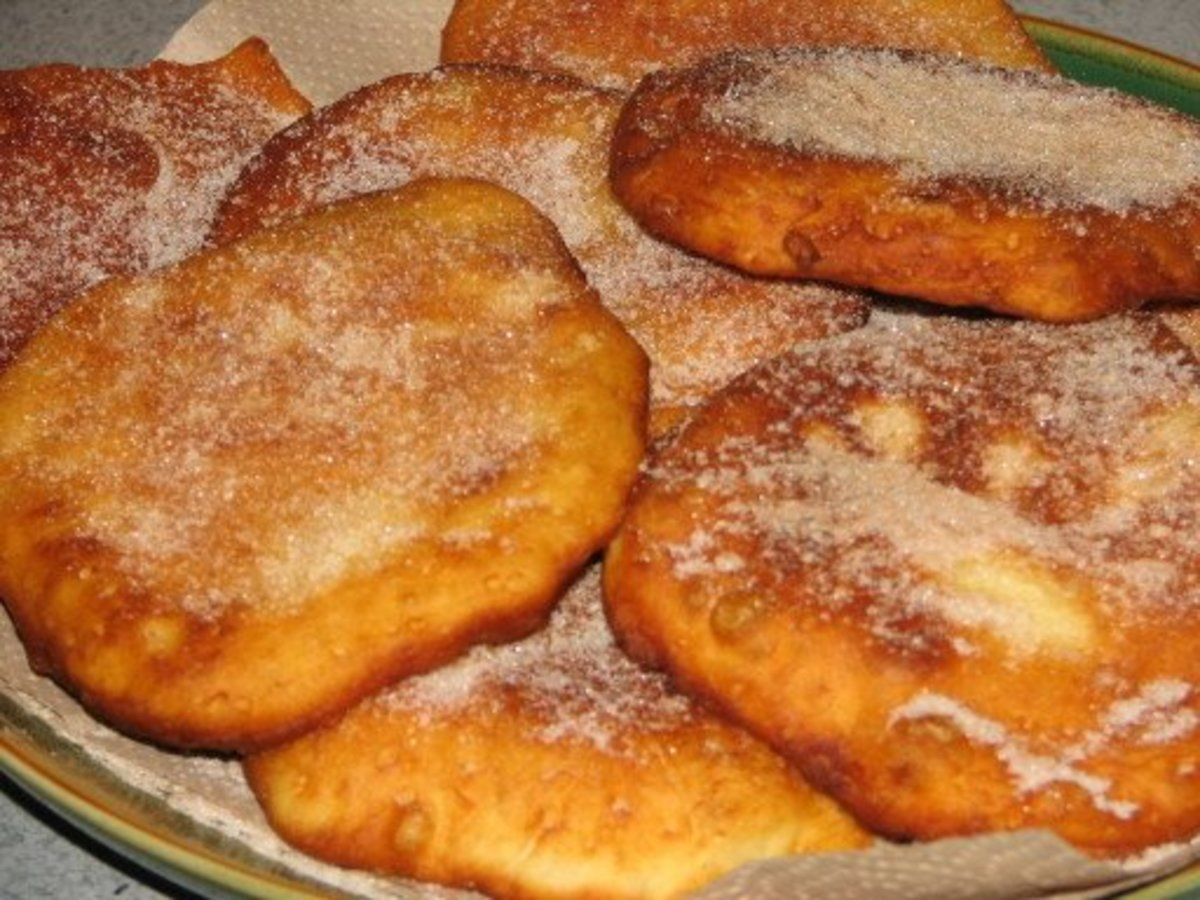 Do you remember eating deep fried elephant ears at your local carnival or fair.