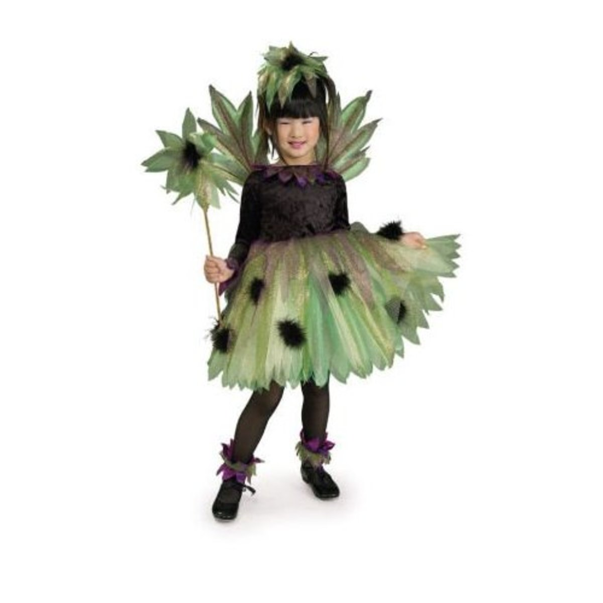 "This fun fairy ""sprite"" costume is an unusual take on the usual pink and purple fairy costumes out there. Image from amazon.com."