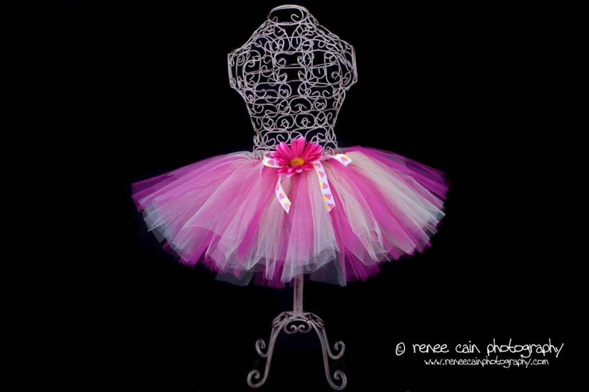 This Couture Collection tutu is the perfect beginning for many fantasy Halloween costumes!