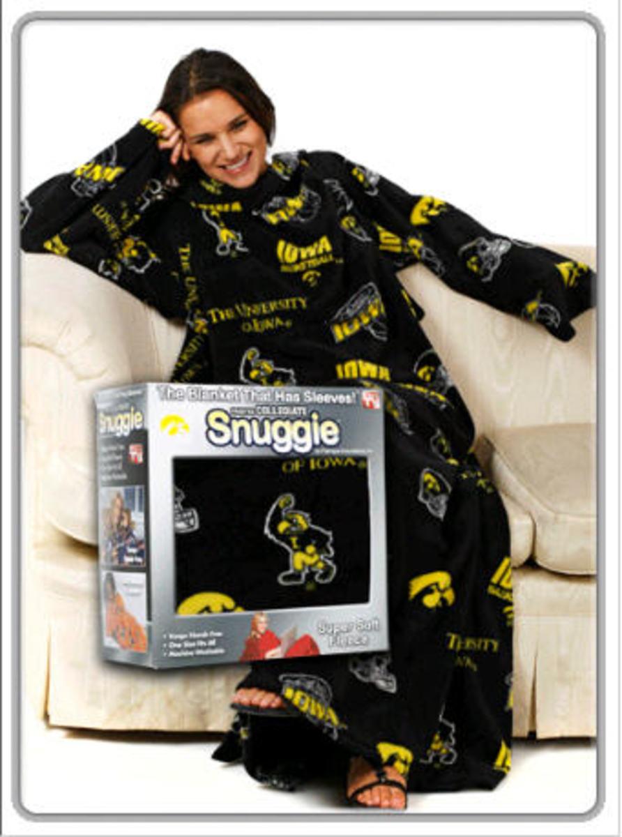 University of Iowa Snuggies