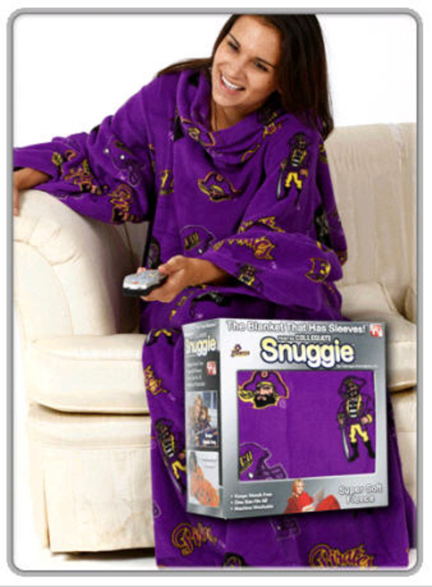 East Carolina Snuggie