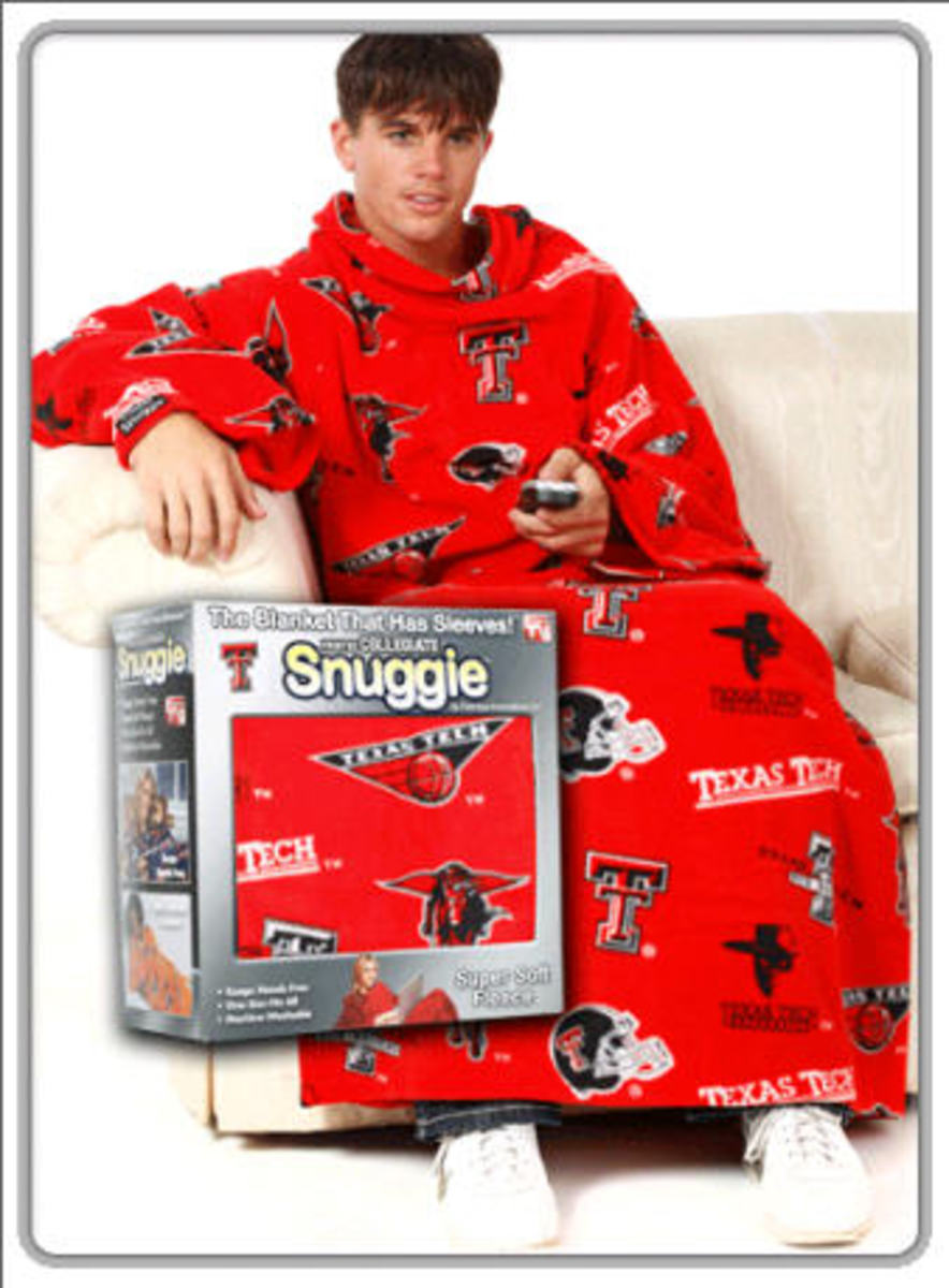 Texas Tech Snuggie