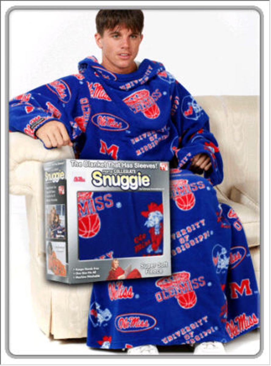 Ole Miss Snuggie