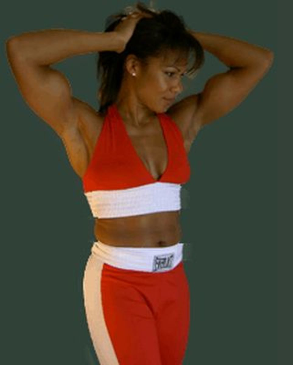 Mary Jo Sanders - Female Boxers