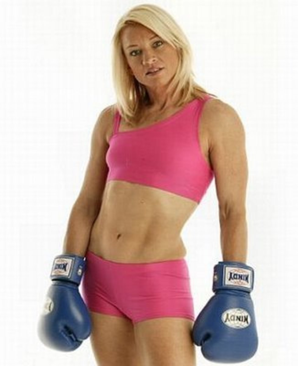Sharon Anyos - Female Boxers
