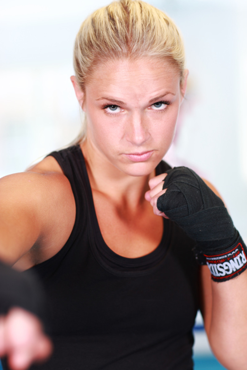 Frida Wallberg - Female Boxers