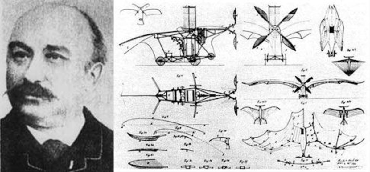 Clement Ader and his patent