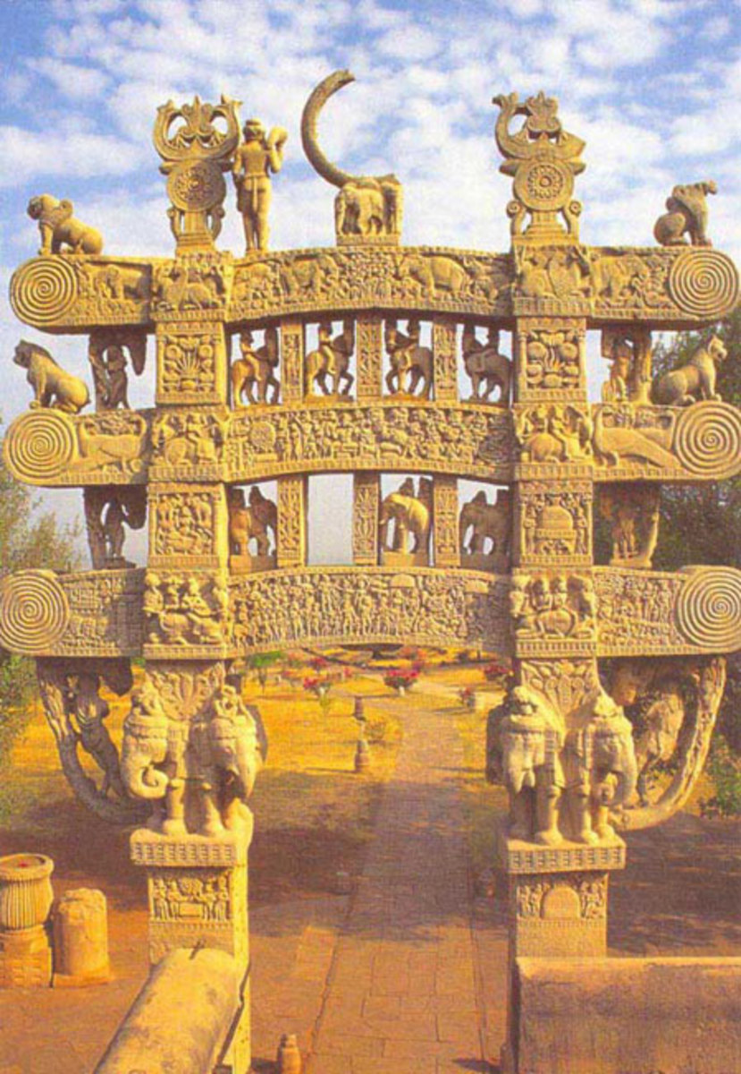 Northern Sanchi Gateway (stupa)