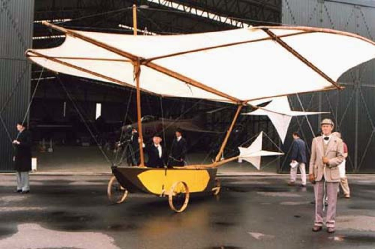 Replica of Caley's Glider of 1809