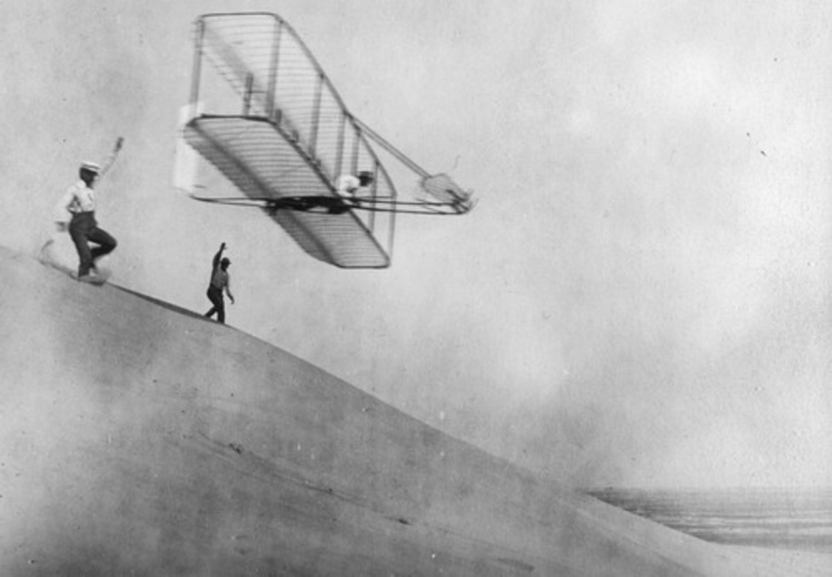 Wright brother's aeroplane