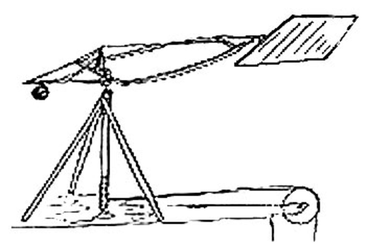 George Cayley, aerofoil testing device 'whirling arm'