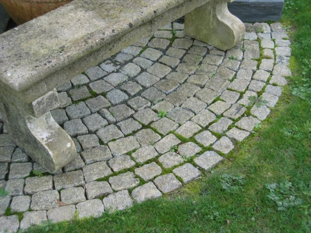 "A lovely ""ancient cobblestones"" effect"