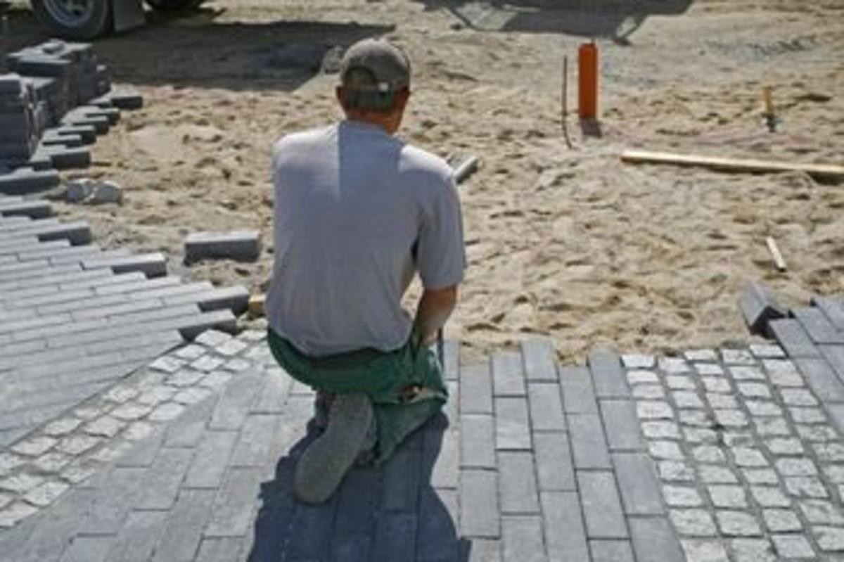 Laying the brick