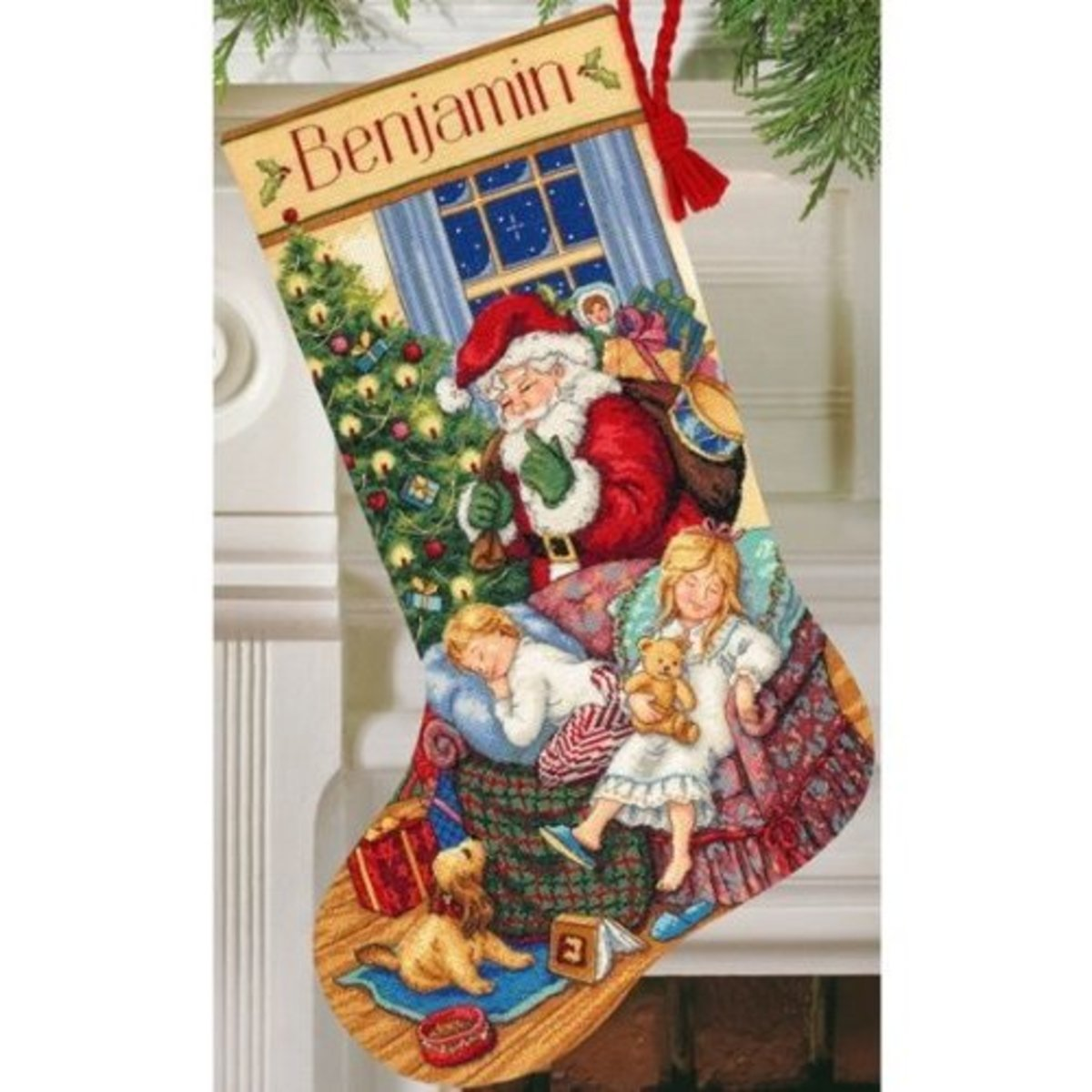 Christmas Cross Stitch for Stockings