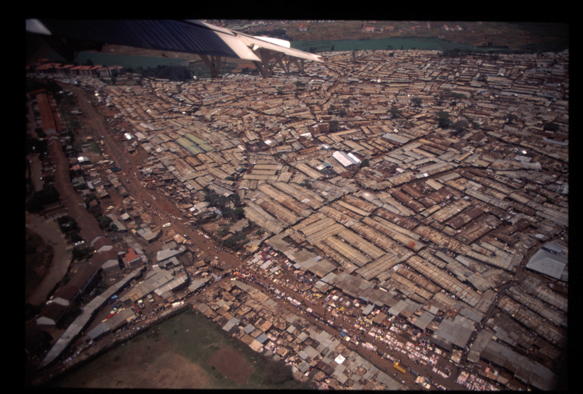 One of Africa's biggest slum and sprawl called Kibera