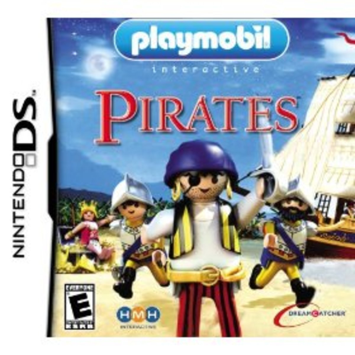 Play the Pirate on Play Mobil Pirates DS
