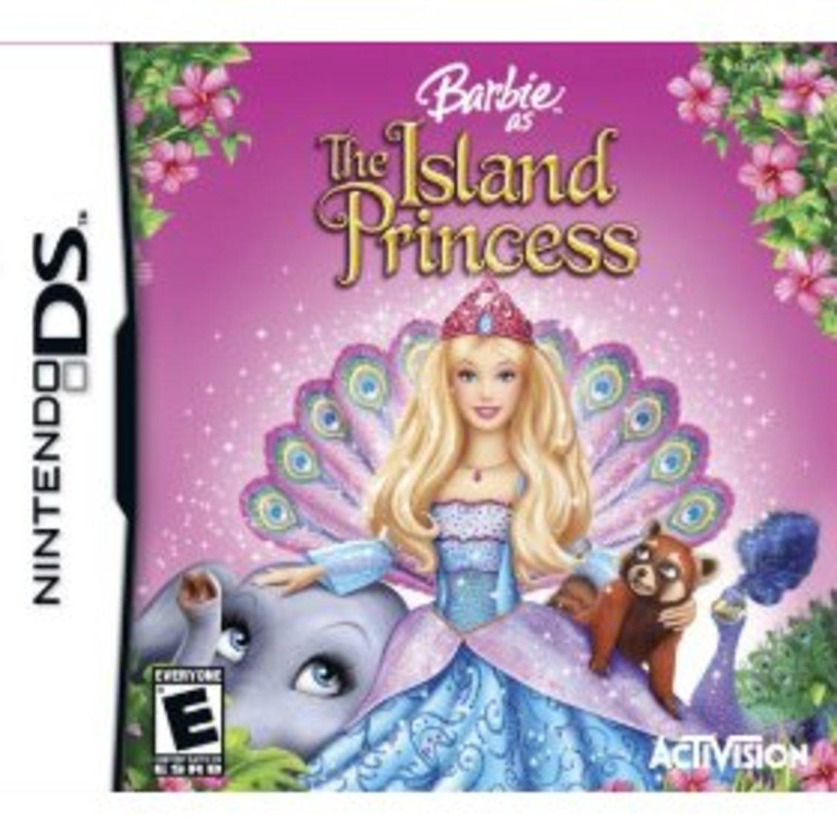 Barbie island Princess for Nintendo DSi - Best Girl's DSi Game!
