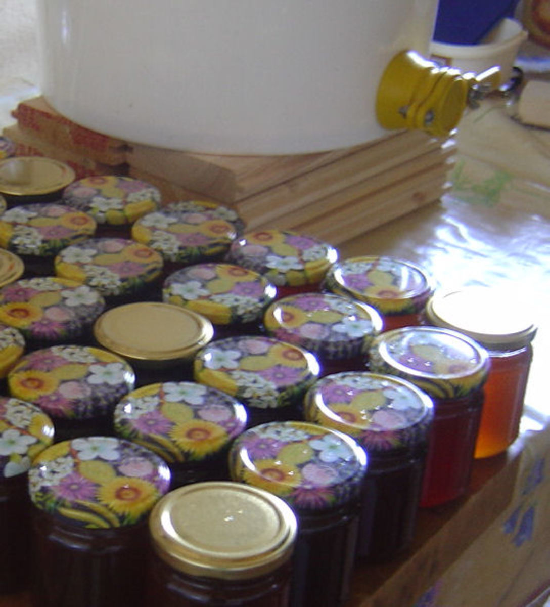 When you produce your own honey you will know that it is a first rate, natural and delicious product.