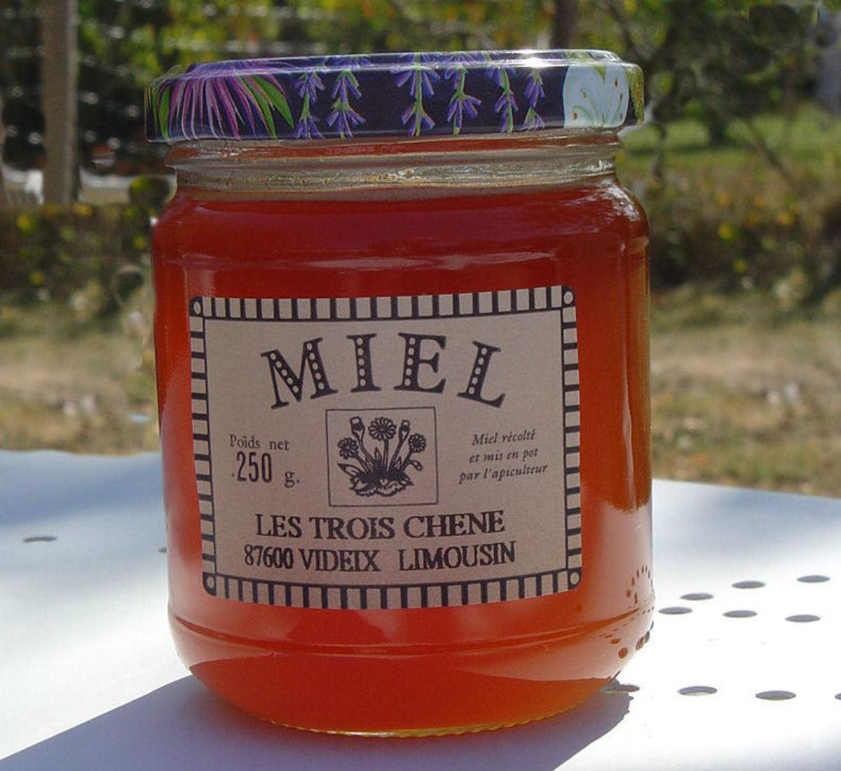 Our own Les Trois Chenes Honey