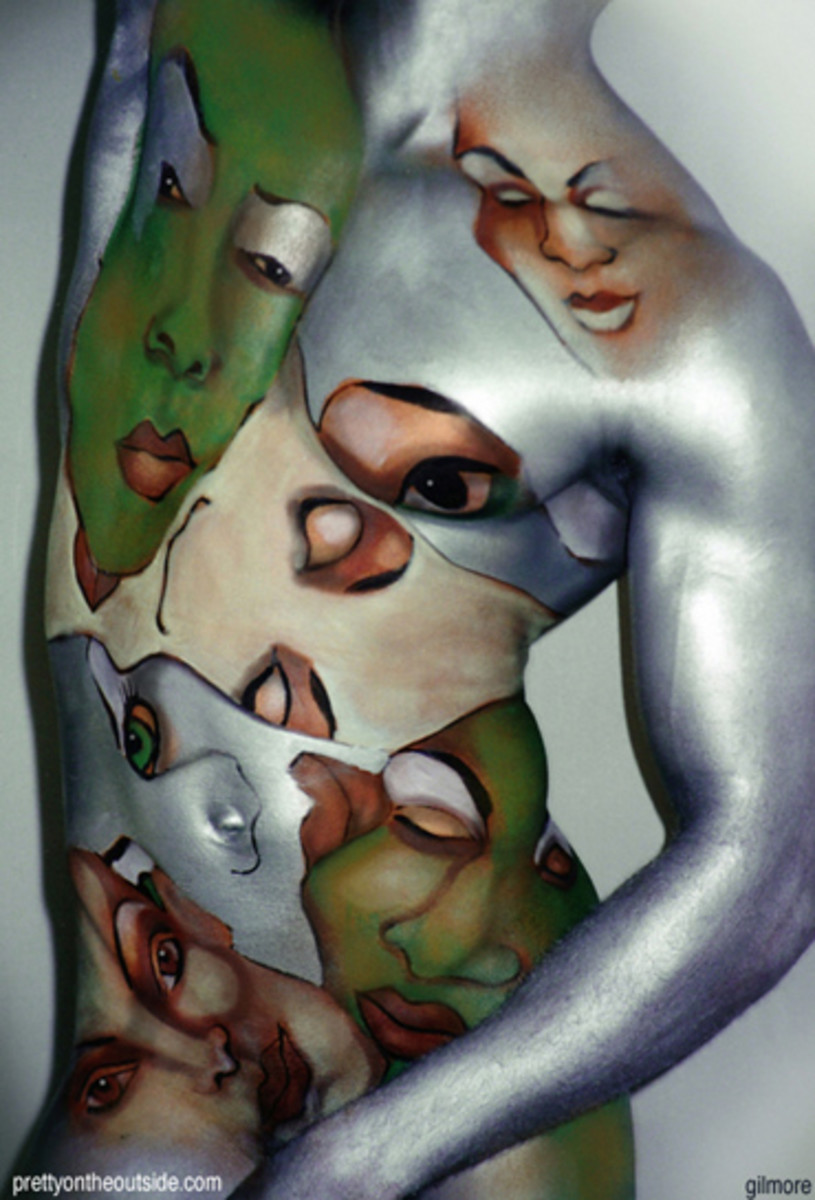 art-body-painting