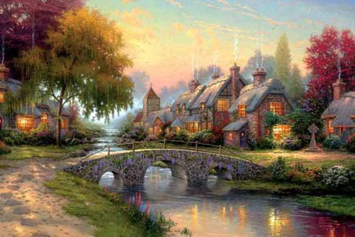 Paintings of Thomas Kinkade