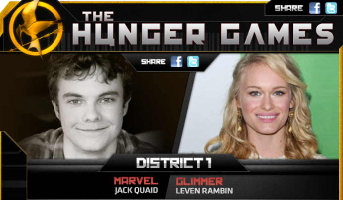 All photo sources for the tributes are attributed to hungergamemovies.com