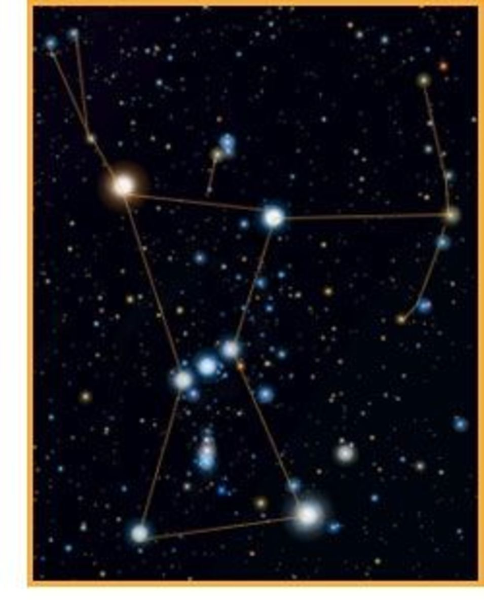 Constellation of Orion, my edit.