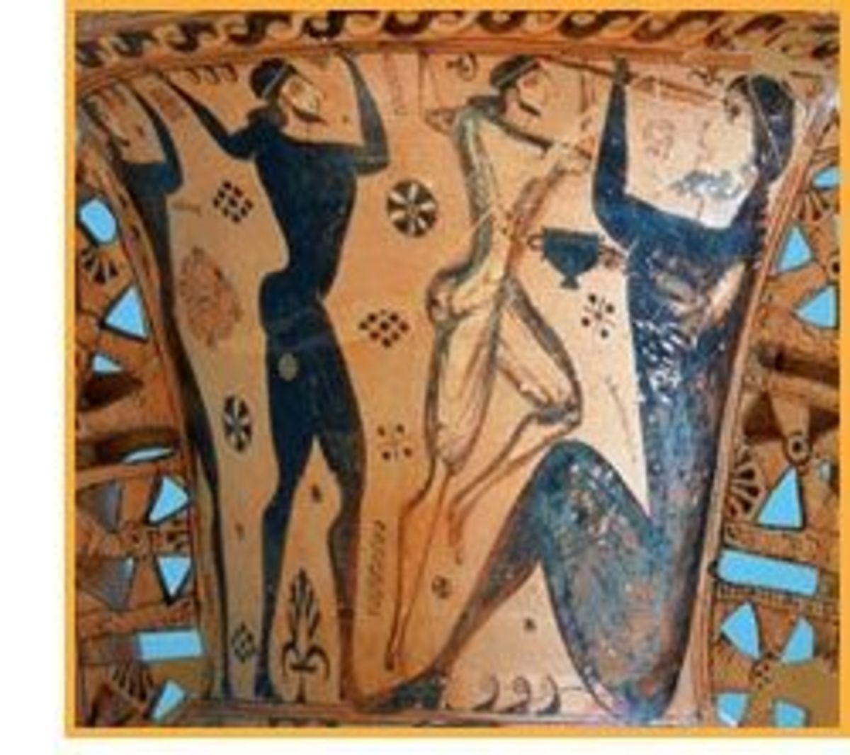 Polyphemos Vase from Eleusis