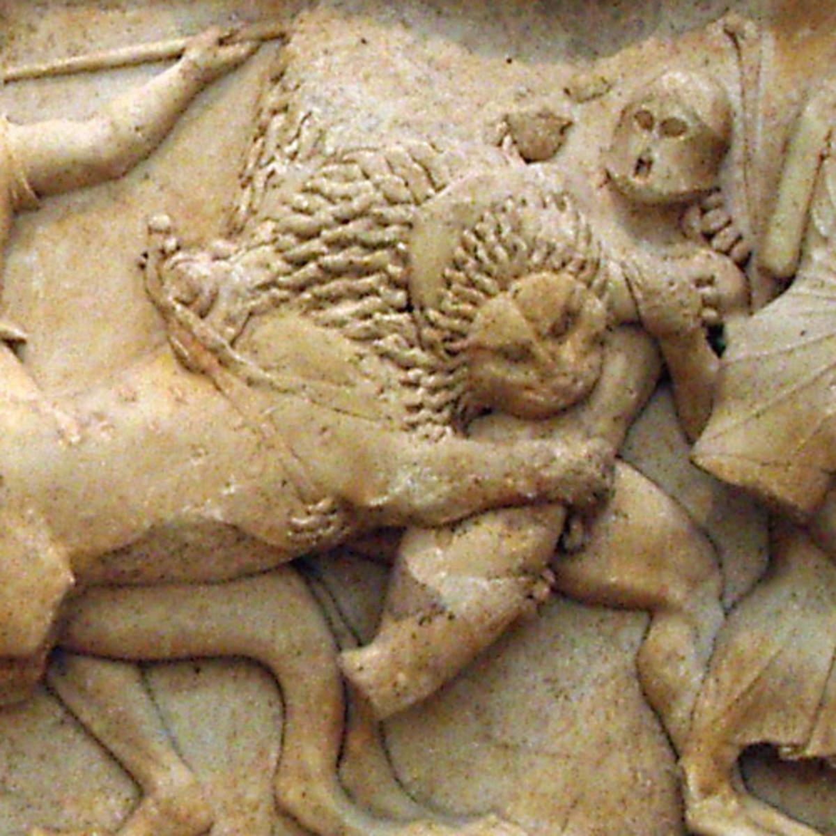 Gigantomachy, Siphnian Treasury, Delphi