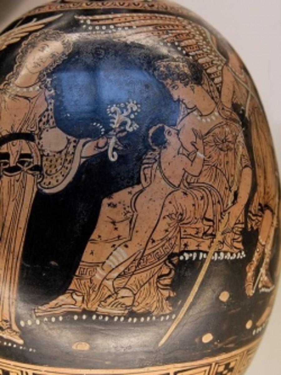 Hera Suckling Herakles