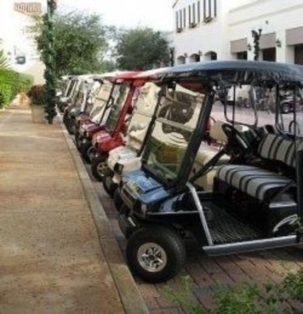 Golf Cart Fun: Personalize It, Decorate It, Accessorize It