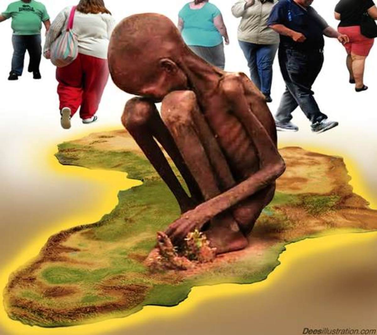 Many Black nations suffer from constant diseases outbreaks, need emergency food reliefs, suffer civil strife, genocide, chronic corruption, nonexistence infrastructure, constitution breaches, state failures; they suffered slavery, colonialism, neocol
