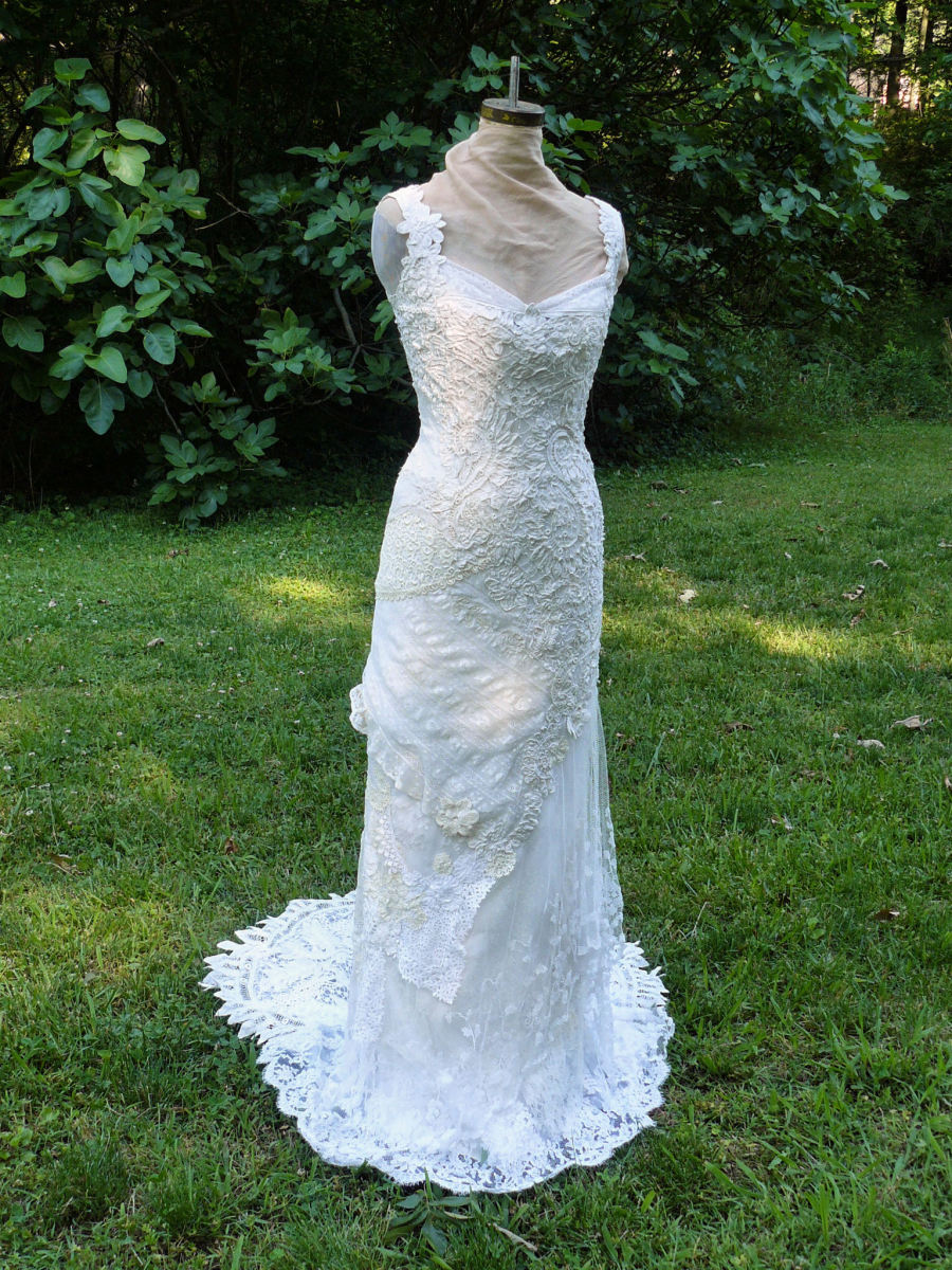 Irish lace crochet patterns easy crochet patterns for Crochet lace wedding dress pattern