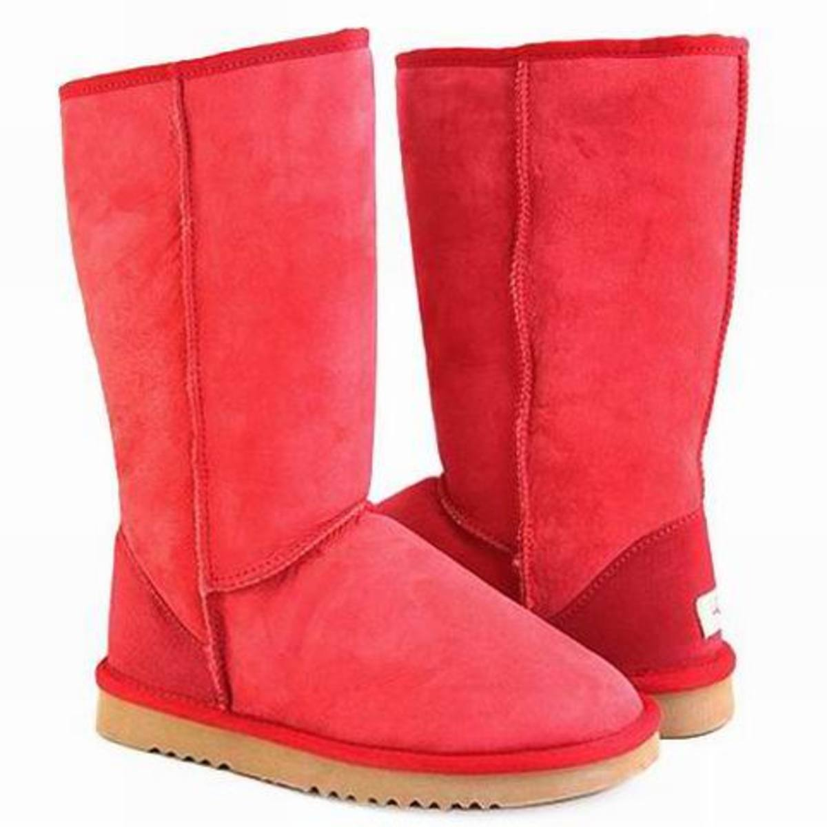 Classic Tall 5815 Red UGG Boots