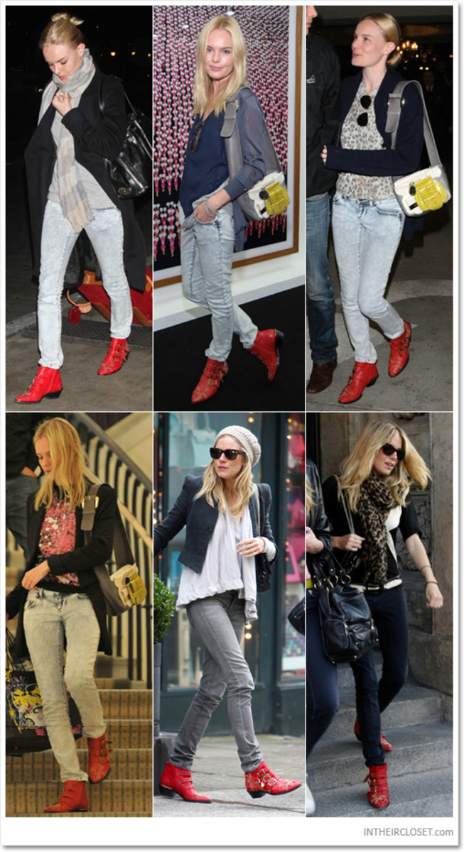 Kate Bosworth & Sienna Miller Love Chlo ankle boots