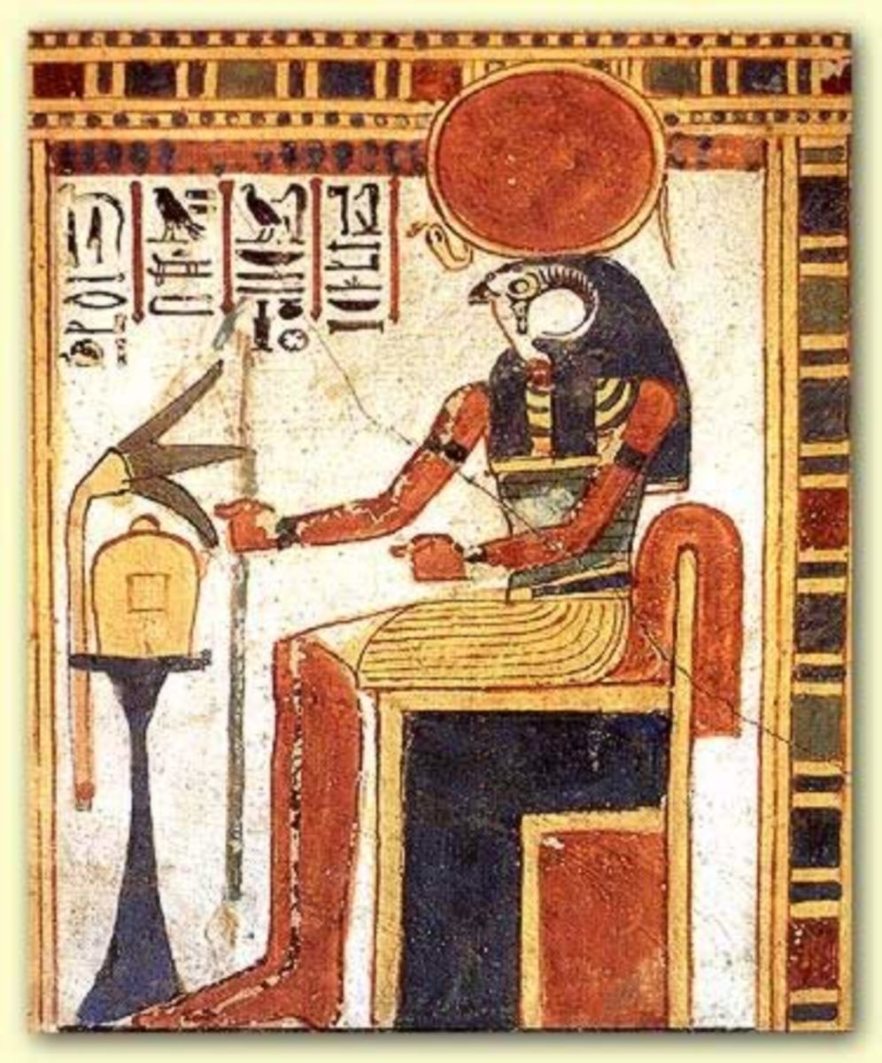 Amen-Ra is the living force that dwells around all living things and lives within all beings. He is also the Father of of the Gods and the Ruler of the Universe who constructed himself out of Chaos(NuN); [Big Bang]