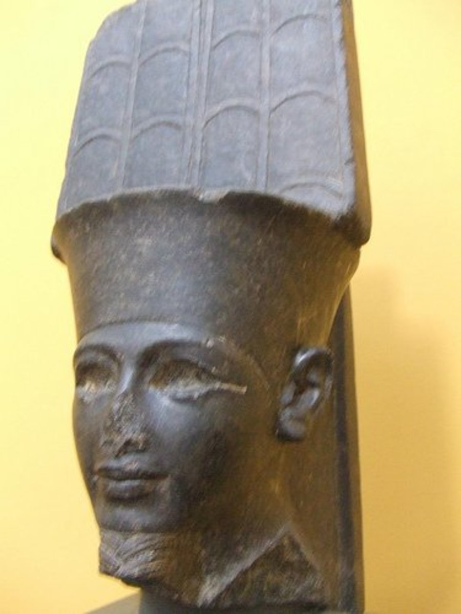 Amun(Amen) was a deity in Egypt who became the patron deity Thebes and one of the most important deities in Ancient Egypt