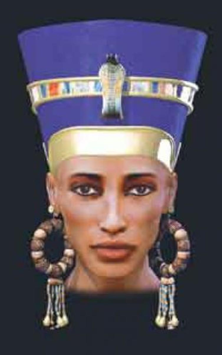 Akhenaton's wife, Queen Nefertiti