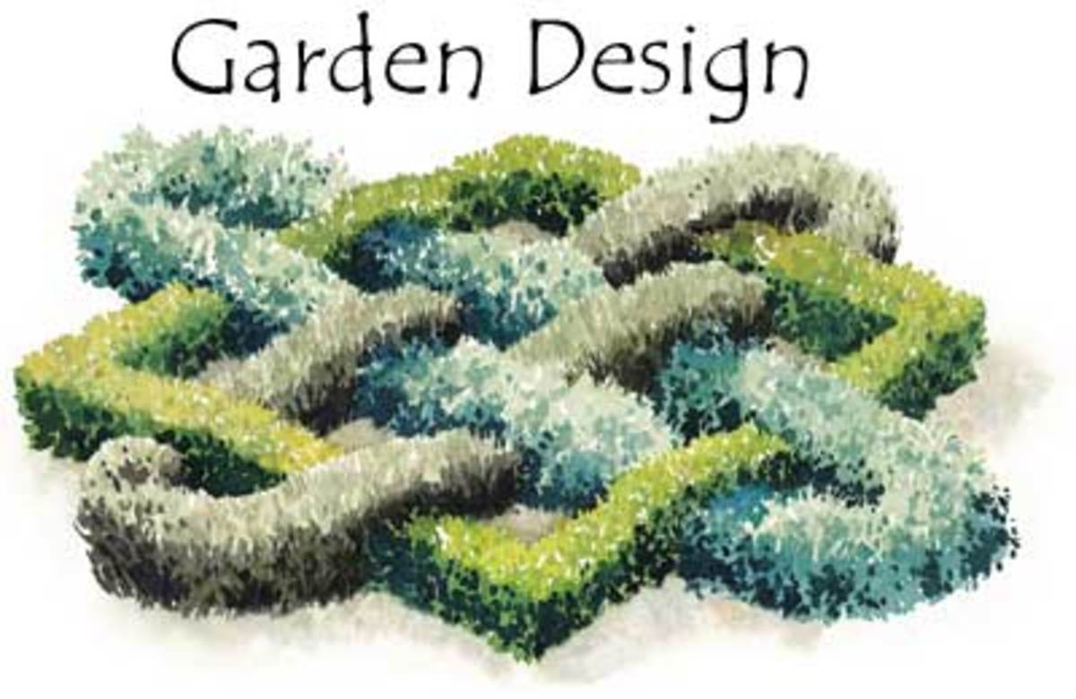 Start your own herb garden for Knot garden design ideas