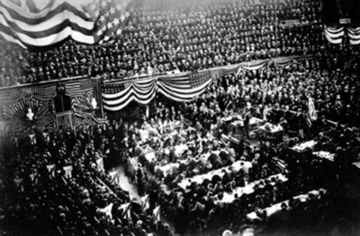 The Republican Convention of 1880, mentioned in the novel