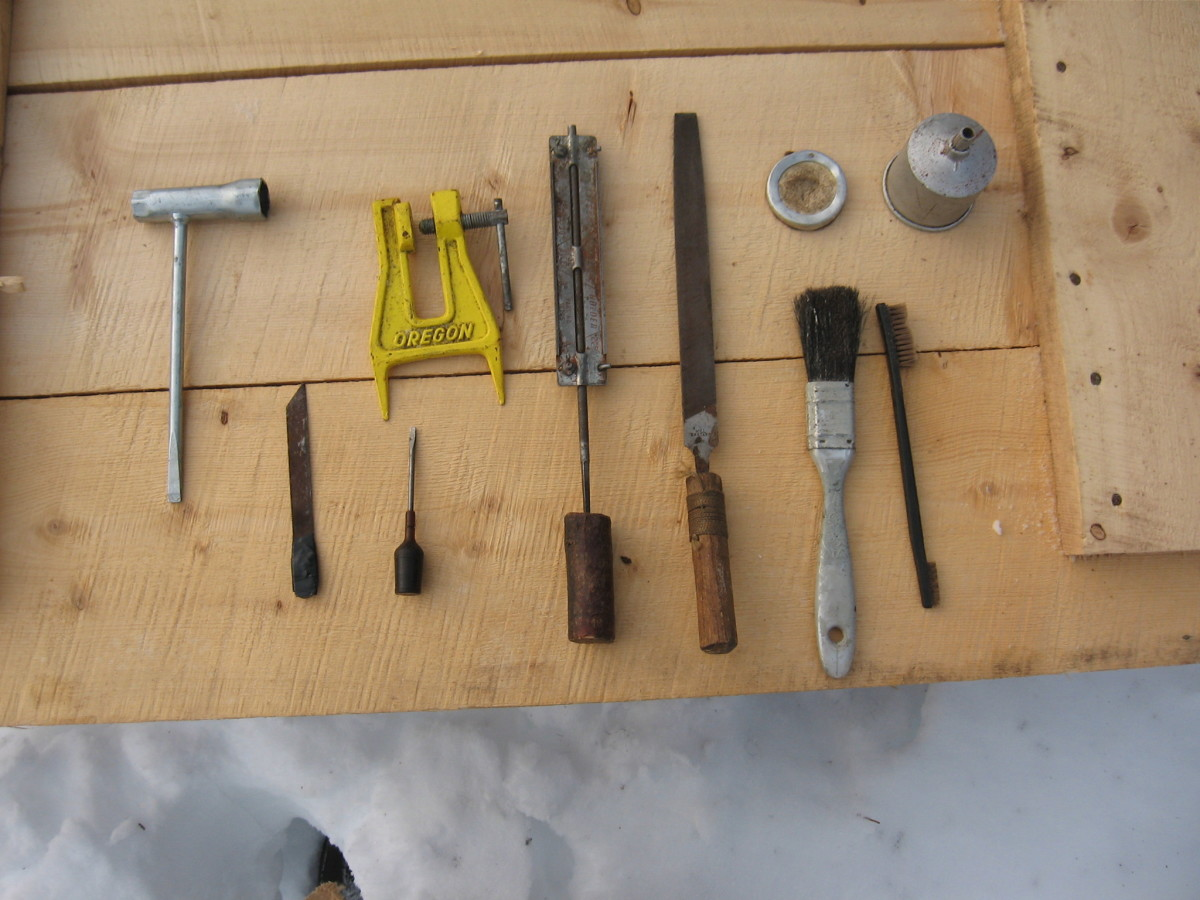 How to use a Chainsaw in Snow & Cold Weather