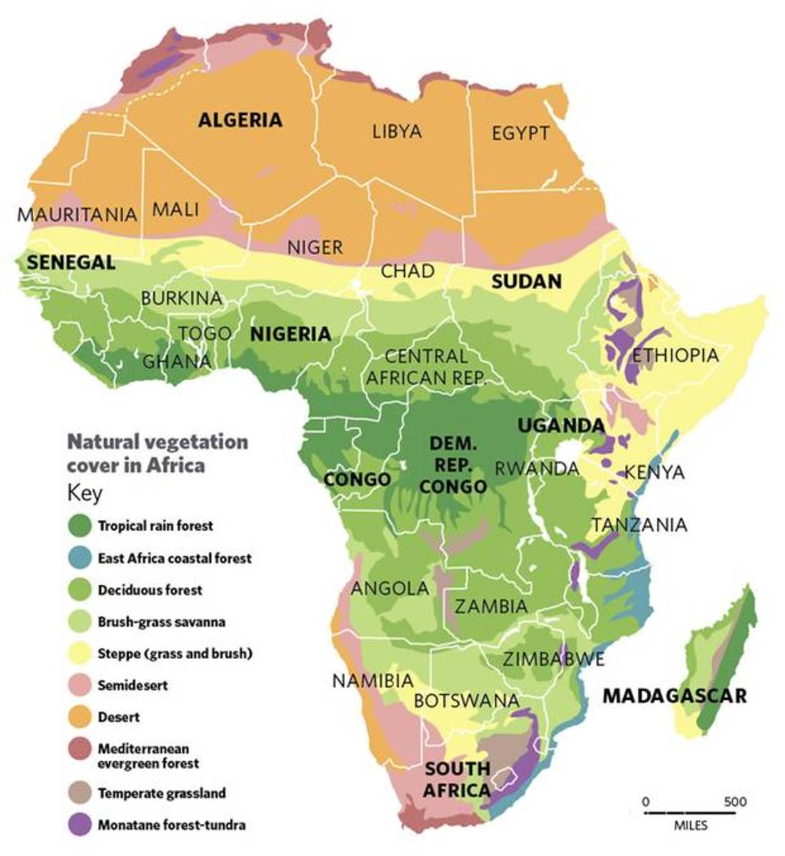 A Continent Destroyed To Date