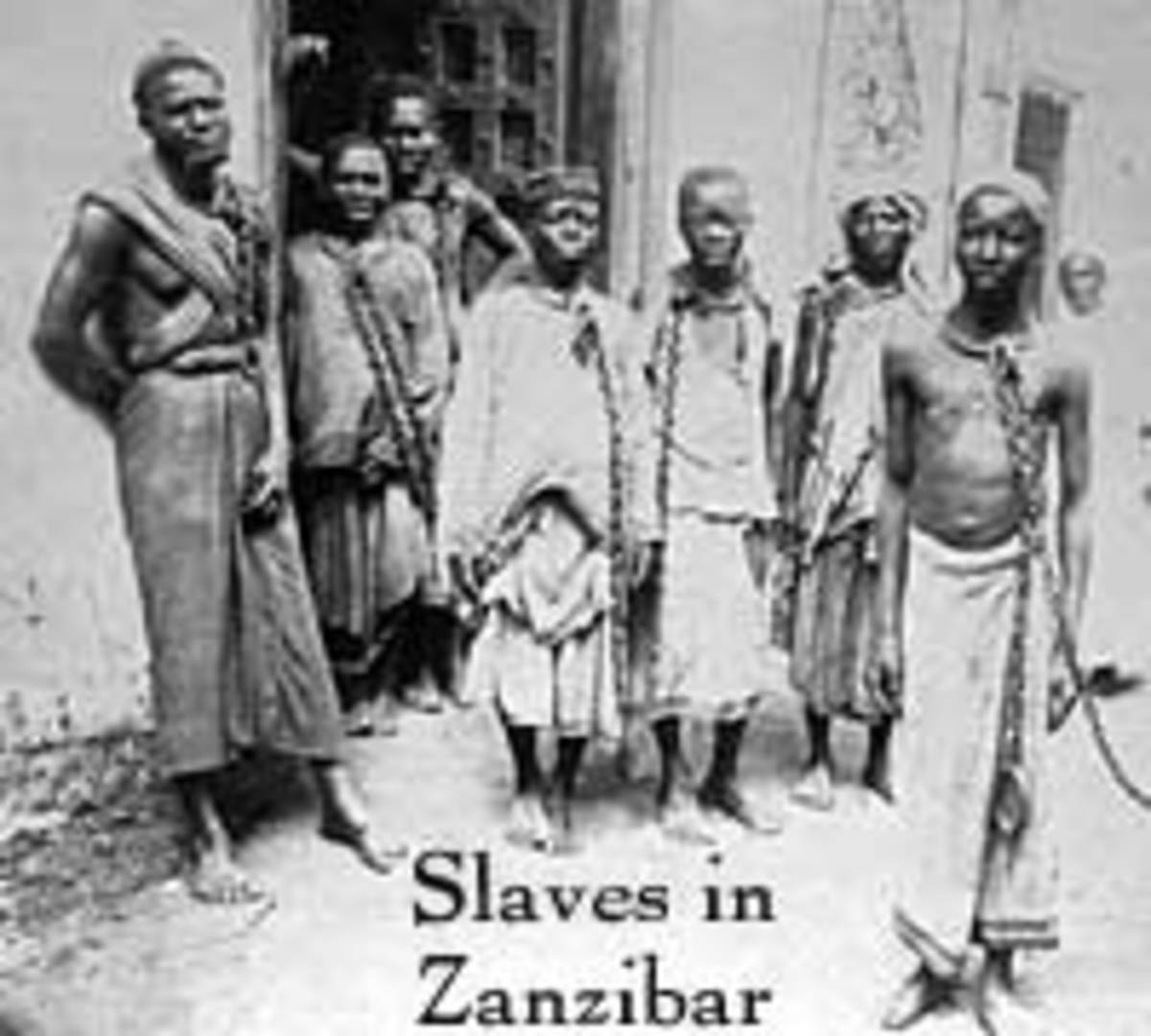 Slaves who were enslaved in East Africa by the rulers of Zanzibar