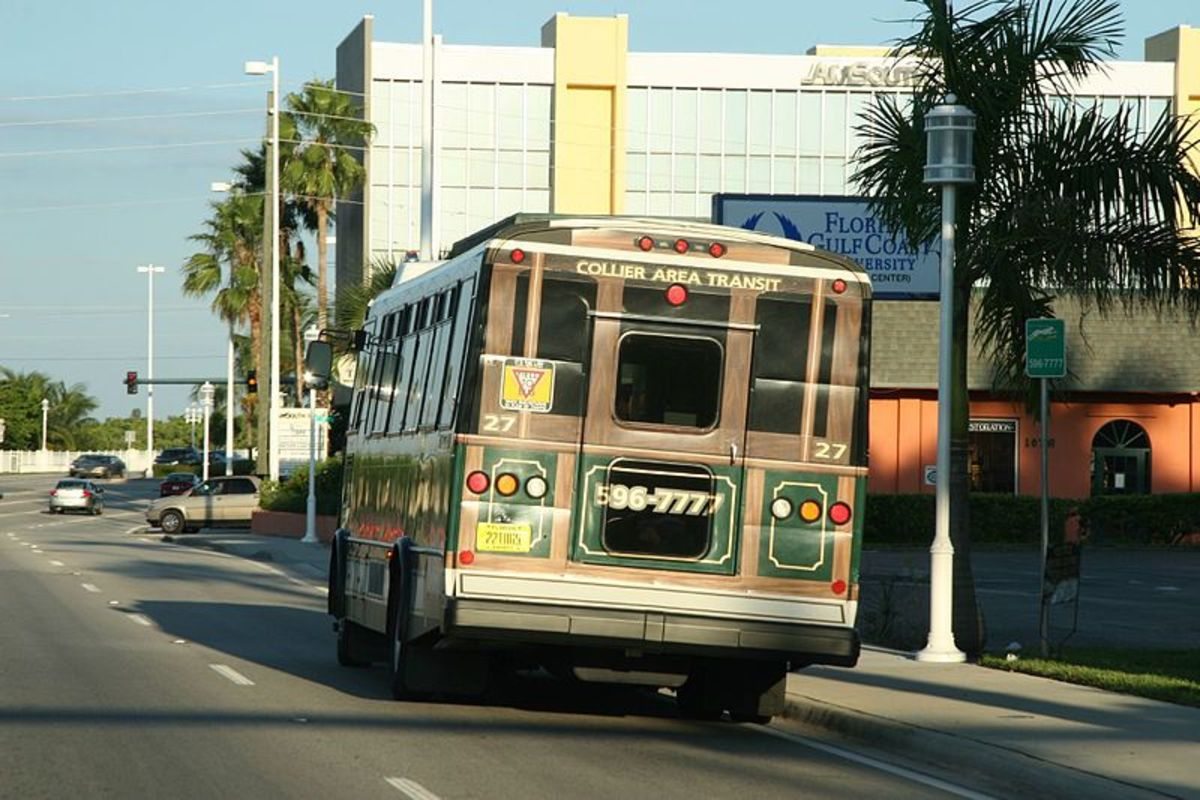 Collier Area Transit buses run seven days a week to Immokalee, Marco Island, Golden Gate and the City of Naples.